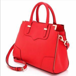Rebecca Minkoff Amorous Saffiano Coral Red Bag